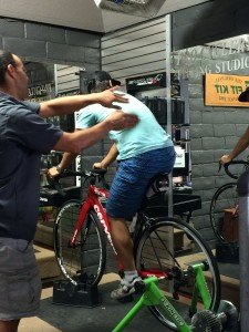 Quick fitting with Eric on the S3 at Pro Cyclery