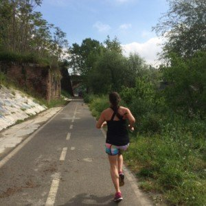 Running with Shirl in Rome